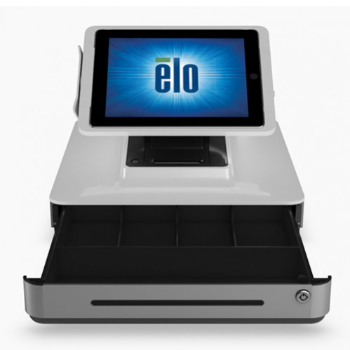 Elo Paypoint All In One Printer And Cash Drawer White