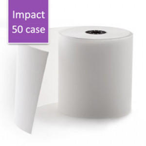 Impact Paper Roll: 1-Copy, Thermal