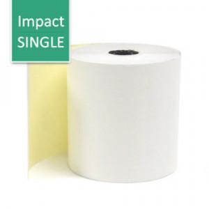 Impact Paper Roll: 2-Copy, Impact Kitchen Receipt Printer, Single Roll 250