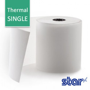 Star TSP Paper Roll: 1-Copy, Thermal 250